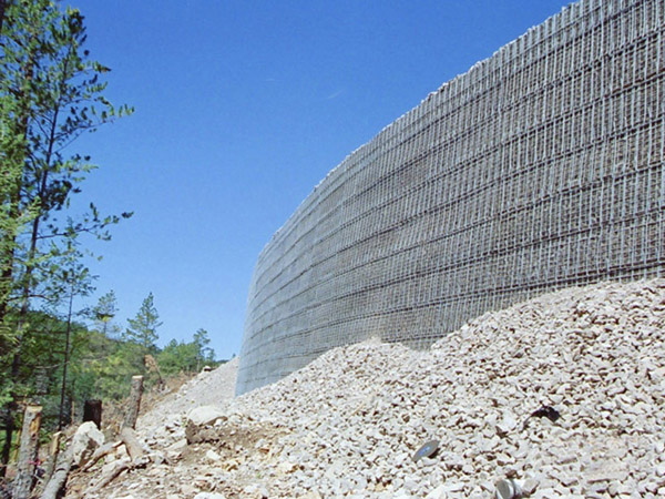 Stabilized Earth Retaining Road : Project photos association for mechanically stabilized earth